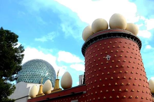 Fotos del Teatro-Museo Dalí de Figueres. Torre Galatea