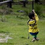 Fotos del Valle del Jerte, Parque Aventura Teo tirolina