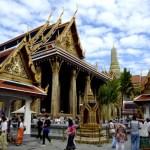 Fotos del Wat Phra Kaew y el Gran Palacio de Bangkok, both y gente