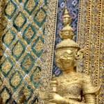 Fotos del Wat Phra Kaew y el Gran Palacio de Bangkok, estatua