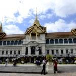 Fotos del Wat Phra Kaew y el Gran Palacio de Bangkok, palacio y turistas