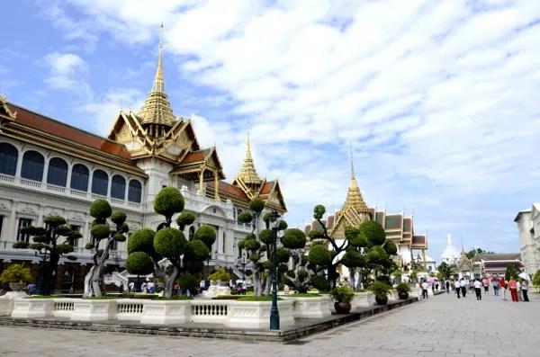 Fotos del Wat Phra Kaew y el Gran Palacio de Bangkok, palacio