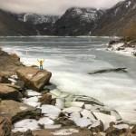 Fotos del lago Bondhus en Noruega