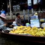 Fotos del mercado flotante de Damnoen Saduak, mangos
