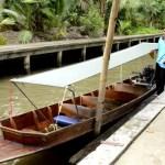 Fotos del mercado flotante de Damnoen Saduak, muelle