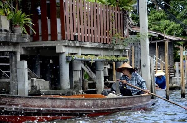 Fotos del mercado flotante de Damnoen Saduak