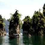 Fotos del viaje a Tailandia con niños, paisajes de Khao Sok