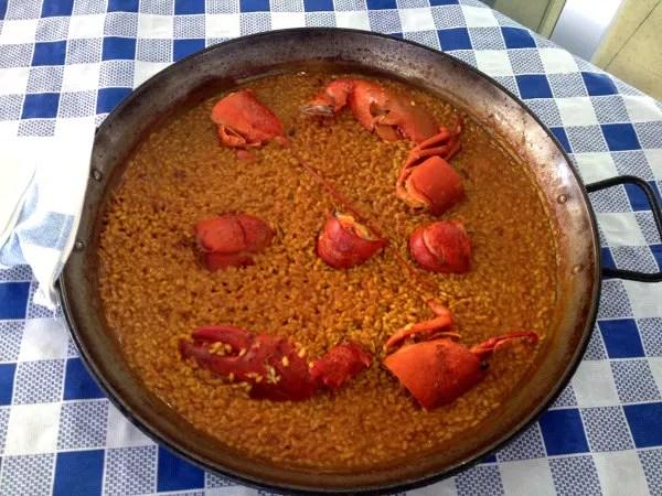 Fotos de Alicante, arroz del Rincón del Varadero