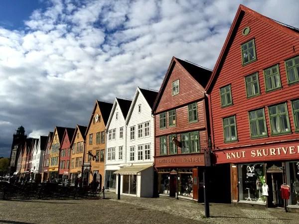 Fotos de Bergen en los Fiordos Noruegos