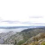 Fotos de Bergen en los Fiordos Noruegos, Ulriken