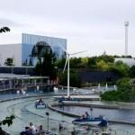 Fotos de Futuroscope en Francia, atracciones de barcas