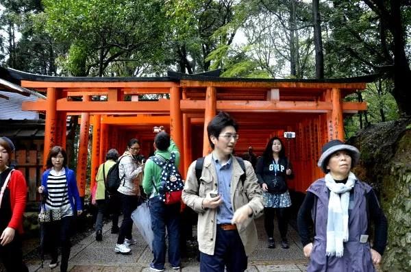 Fotos de Japon, Fushimi Inari a tope