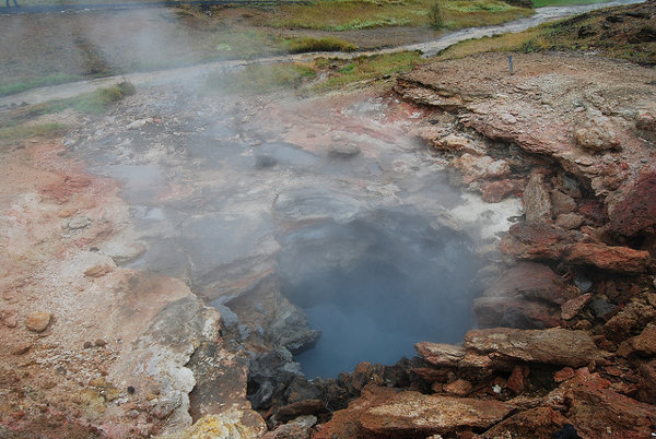 Fumarola de Hveragerði