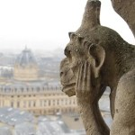 Gárgola de Notre Dame en París