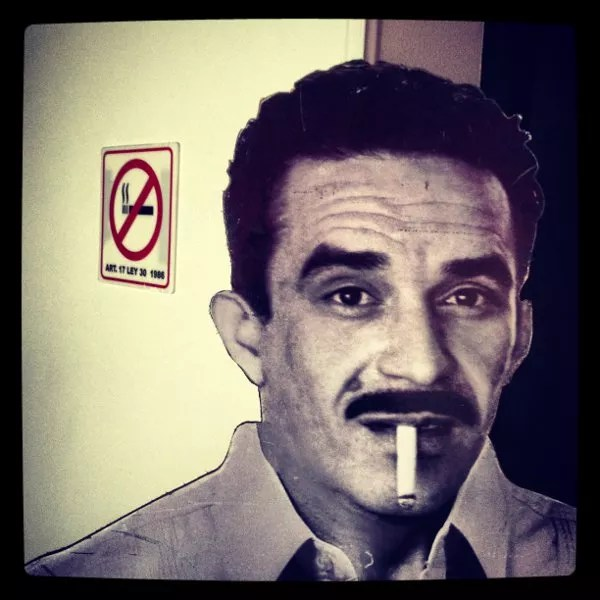 Gabriel García Márquez en La Cueva