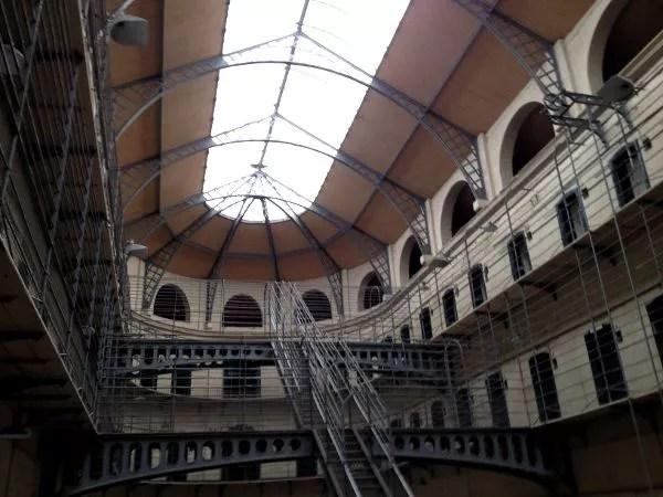 Galerías de Kilmainham Gaol, la cárcel de Dublín