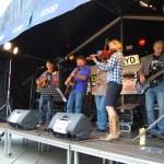 Grupo country en el Festival Gladmat de Stavanger