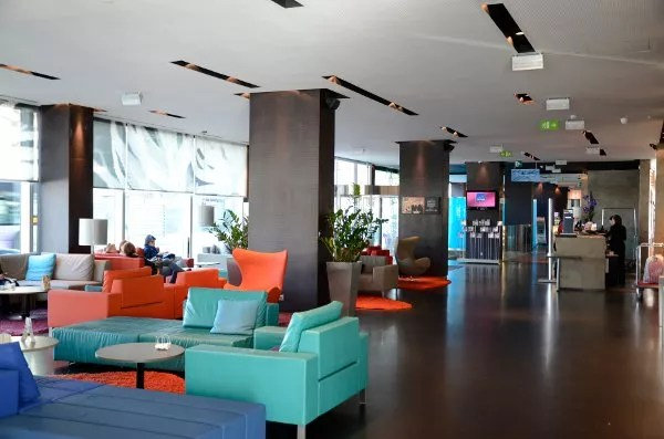 Hall del Novotel Barcelona City