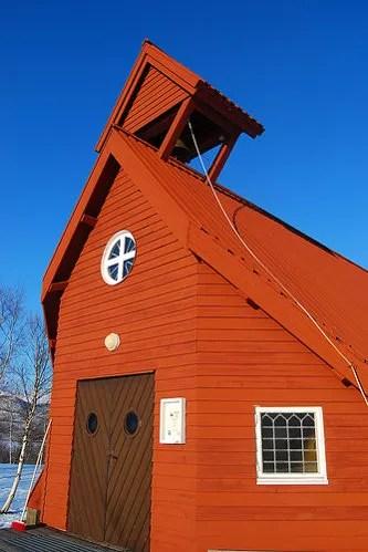 Iglesia de Nikkaluokta
