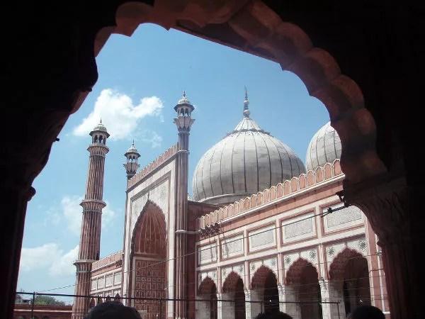 Jama Masjid, la mezquita más grande de Nueva Delhi