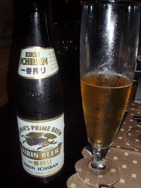 Kirin Beer, cerveza japonesa