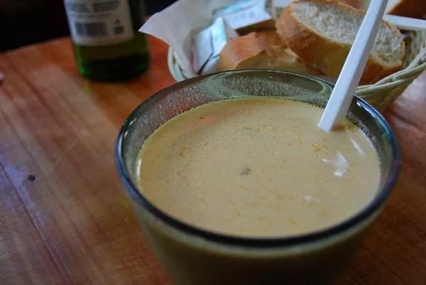 La mejor sopa de langosta del mundo