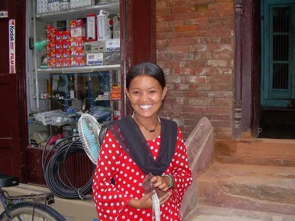 La sonrisa de Patan