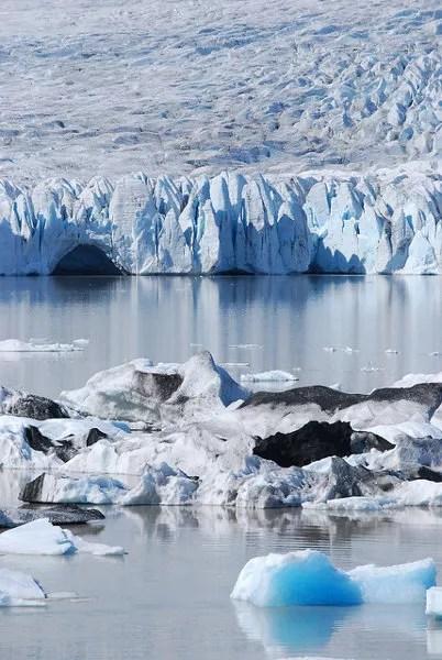 Laguna glaciar de Fjallsárlón