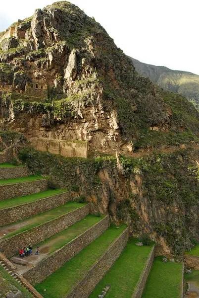 Las terrazas de Ollantaytambo