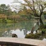 Fotos de Kanazawa, linterna Kotojitoro del Kenroku-en