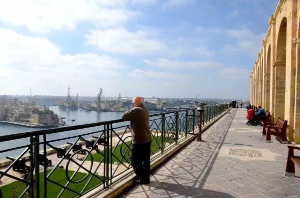 Los Jardines Upper Barrakka de Malta