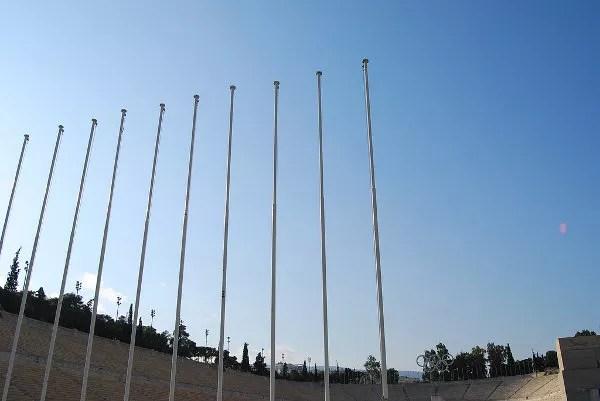 Mástiles del Estadio Panathinaiko