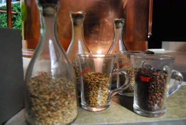 Maltas para elaborar la cerveza 't Pakhuis de Amberes