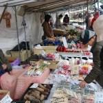 Mercado matinal Jinya-Mae de Takayama