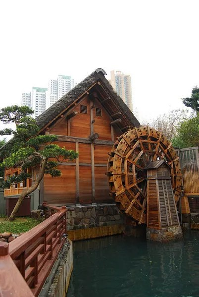 Molino del Nan Lian Garden de Hong Kong