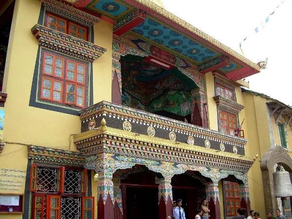 Monasterio tibetano en Bodnath, Katmandú