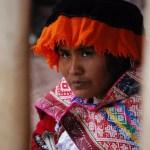 Mujer andina en Perú