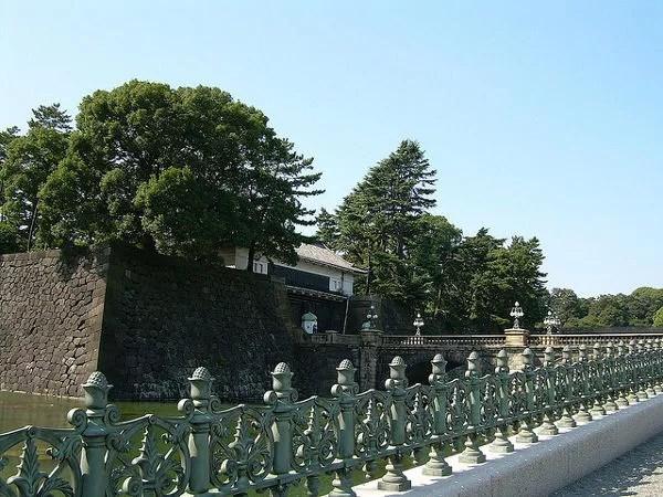 Muros y foso del Palacio Imperial de Tokio