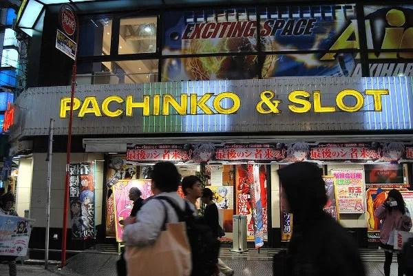 Pachinko en Akihabara