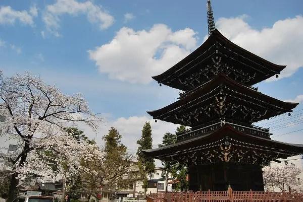 Pagoda del Hida Kokubun-Ji