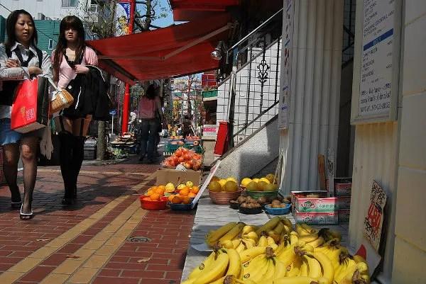 Paseando por el Chinatown de Yokohama