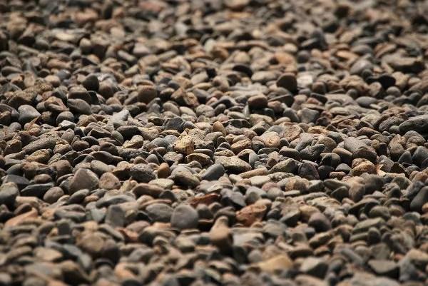 Piedras en el Hie Jinja de Tokio