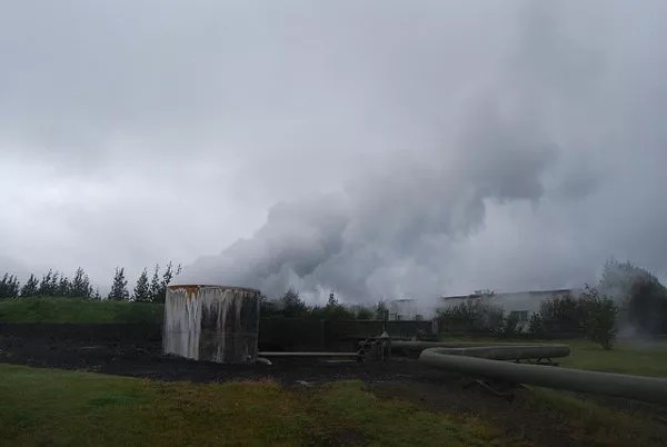 Planta geotermal de Hveragerði