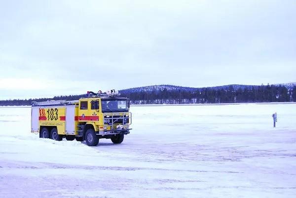 Primer contacto con Laponia Sueca
