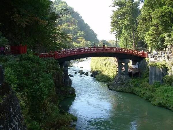 Shin-Kyo o puente sagrado de Nikko