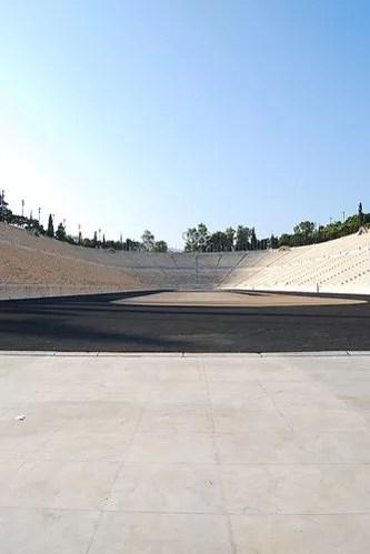 Solazo en el Estadio Panathinaiko