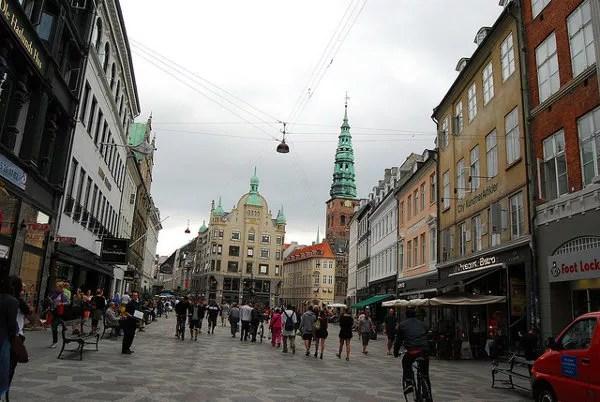 Strøget en Copenhague