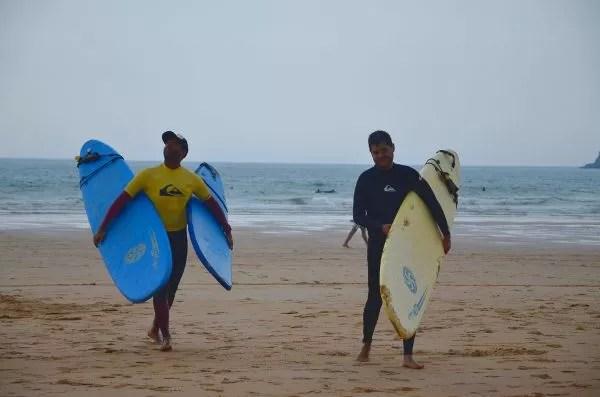 Surf en Somo, Cantabria