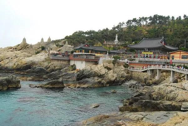 Templo Haedong Yonggungsa de Busan