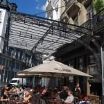 Terraza de Moeder Lambic en Bruselas